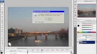 Видео в Photoshop CS3 Extended