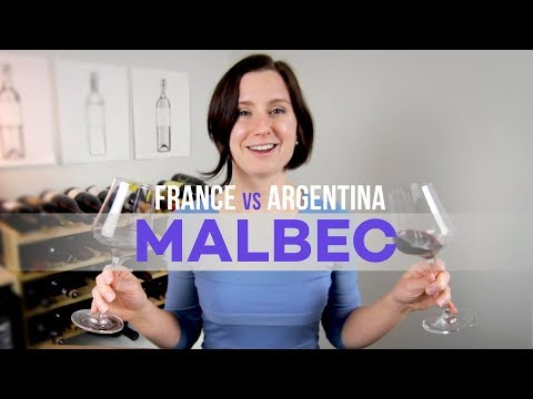 France vs Argentina Malbec Wine