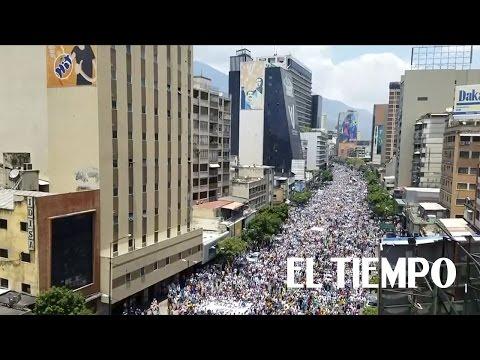 Venezuela se prepara este miércoles para la 'madre de todas las marchas'