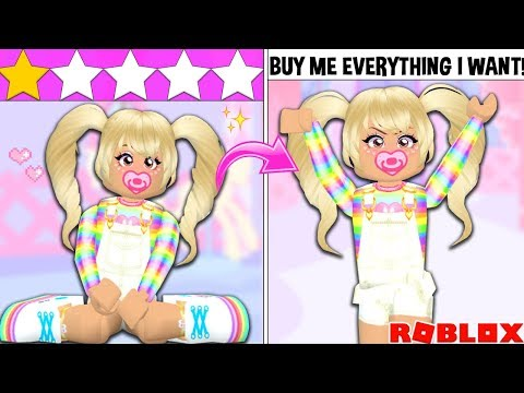 I WENT TO THE WORST REVIEWED ADOPTION AGENCY AND ADOPTED THE MOST SPOILED CHILD IN ROBLOX....