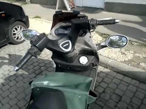 kymco dink 125 scooter youtube. Black Bedroom Furniture Sets. Home Design Ideas