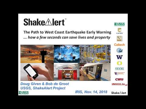 ShakeAlert—Path to West Coast Earthquake Early Warning