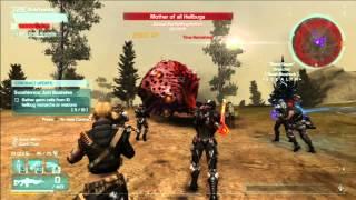 LetsDefiance. Битва при Arkfall #5 Hellbug Matron (сериал Вызов\Defiance s01e03)