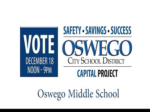 Oswego Middle School Capital Project Tour