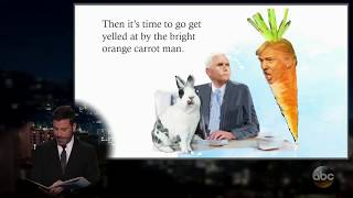 Jimmy Kimmel: Mike Pence's Bunny Has a Book Deal
