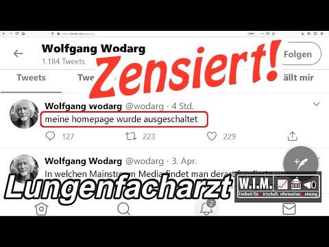 Eil: Homepage ????????Wolfgang Wodarg ????Lungenfacharzt zensiert und gesperrt
