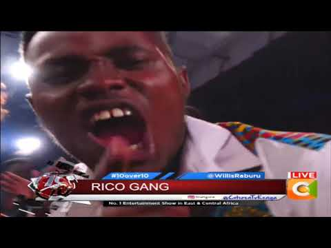 10 OVER 10 | Rico gang performing live