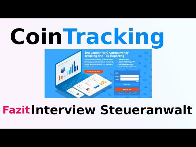 Fazit Interview Steueranwalt und CoinTracking | CARDANO | deutsch