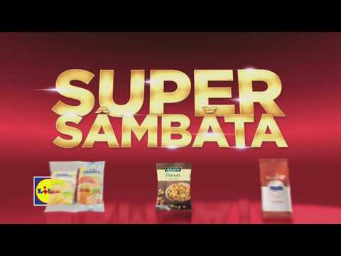 Super Sambata la Lidl • 7 Aprilie 2018