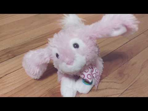 EASTER BUNNY SONG HERE COMES PETER COTTONTAIL DANCING SINGING ELECTRONIC RABBIT DOLL TOY DANCE
