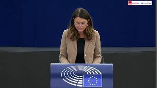 Intervento durante la Plenaria di Simona Bonafè, europarlamentare del Partito democratico, su politiche migratorie e gestione delle richieste di asilo in relazione alle conclusioni del Consiglio europeo.