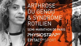 Syndrome Rotulien & Arthrose - Solution genouillère PHYSIOSTRAP Sport   Running - Epitact Sport