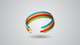 Professional Logo Color Ring Design | Adobe Illustrator Tutorial
