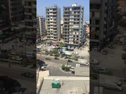 Tripoli Lebanon traffic time lapse
