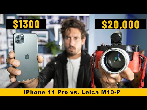 NEW IPhone 11 Pro vs $20,000 Leica | Can You Tell The Difference?