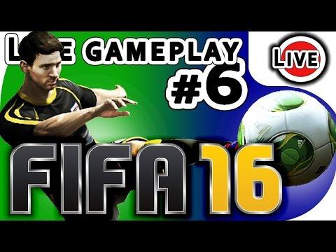 Borussia Dortmund vs FC Bayern Munich - Fifa 2016 - gameplay - livestream  - EA Sports - Ep6