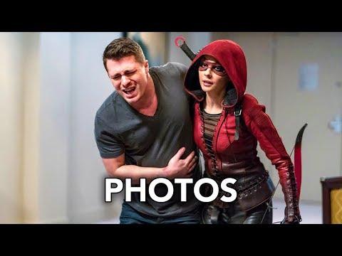 "Arrow 6x15 Promotional Photos ""Doppelgänger"" (HD) Roy Harper Returns"