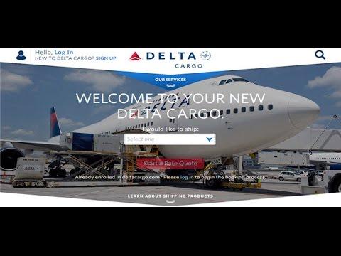 Delta Cargo Tracking,Delta Air Cargo Tracking Status