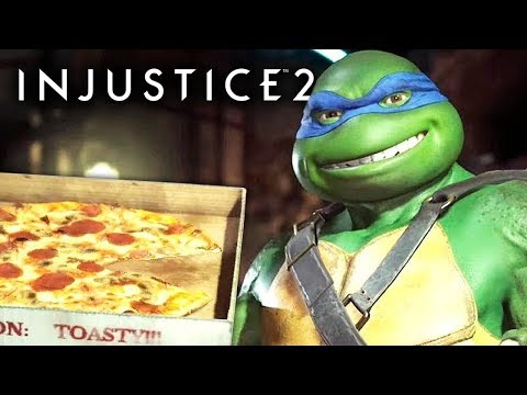 ZERANDO COM AS TARTARUGAS NINJA - Injustice 2