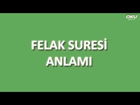 Felak Suresi Meali Oku Dinle İzle - www.oku.gen.tr