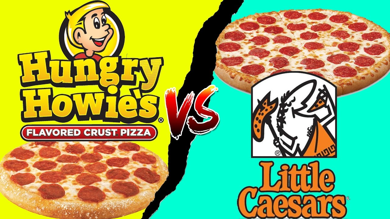 FOOD Fights Little Caesars VS Hungry Howies 5 Pizza