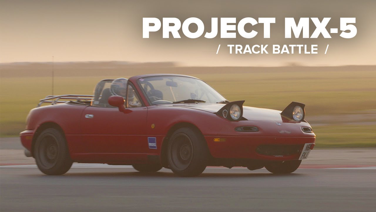 Project MX-5: My First Track Battle With Phil