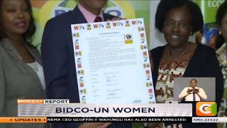 Bidco signs charter to empower women