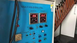 Teste de 1 minuto com 120 kV - Cesto Acoplado Isolado EC Equipamentos