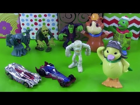 Wonderpets Scooby Doo Villains and Race Cars