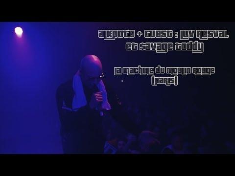 Youtube: Alkpote – Concert – La Machine du Moulin Rouge (Paris) – 10/12/18