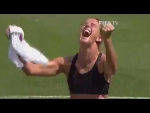 Brandi Chastain Historic World Cup Kick
