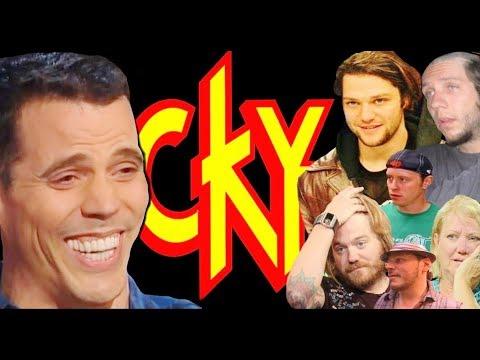Steve-O vs. CKY  (Bam, Ryan Dunn, DiCamillo, Novak, April Margera)