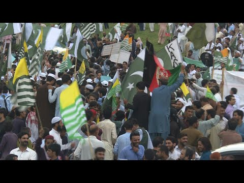 Thousands rally in Pakistan over Kashmir after PM Khan calls for nationwide demos | AFP