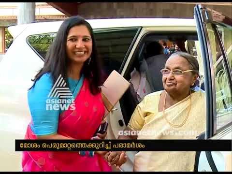 Nisha Jose K Mani's Controversal remarks against Senior congress Leader son