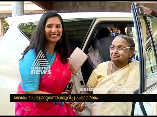 Nisha Jose K Mani's Controversal remarks against Senior congress Leader son