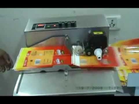 DRY INK BATCH CODING MACHINR1