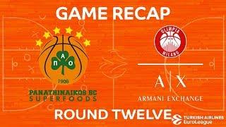 Highlights: Panathinaikos Superfoods Athens - AX Armani Exchange Olimpia Milan