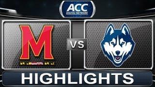 2013 ACC Football Highlights | Maryland vs UCONN | ACCDigitalNetwork