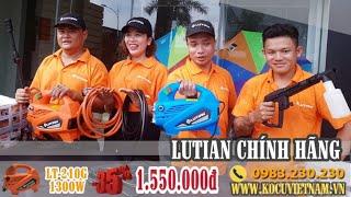 💯SALE 35% -Máy rửa xe mini gia đình #lutian LT210G-1300W LH:0983.230.230