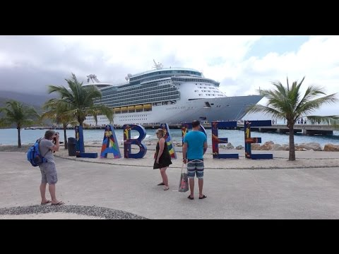 Royal Caribbean Labadee Cruise Port, a Private Destination in Haiti