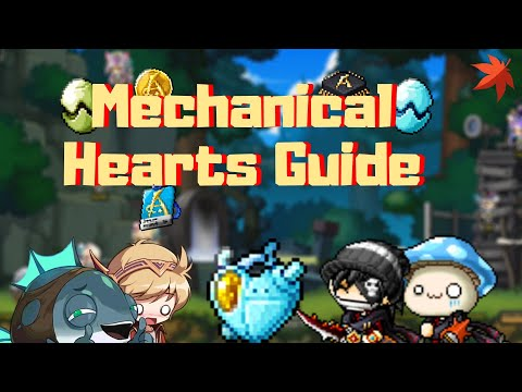 Maplestory Mechanical Hearts Event Guide!