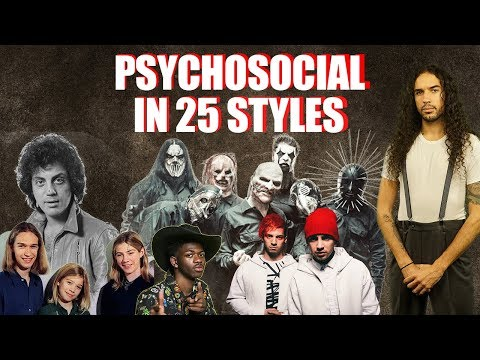SHROOM - Slipknot's 'Psychosocial' Performed In 25 Styles [Video]