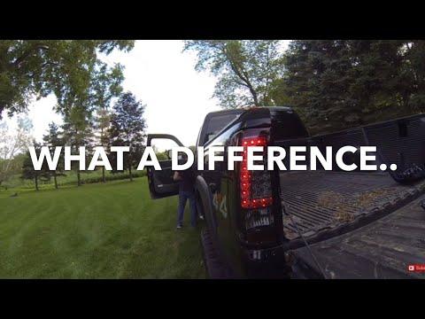 """""""C"""" Shaped Led Brake Lights Full Install"""