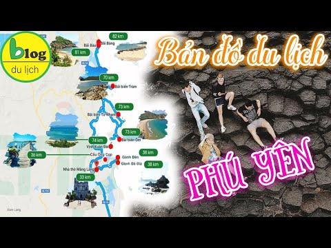 Du lịch Phú Yên 2021 - Bản đồ du lịch Phú Yên - Tổng hợp tất cả những địa điểm Phú Yên đẹp nhất