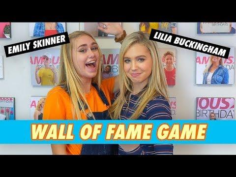 Emily Skinner vs. Lilia Buckingham - Wall of Fame Game