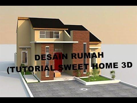 atap rumah sweet home 3d