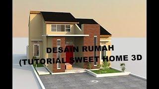 Desain Rumah (tutorial Sweet Home 3d)