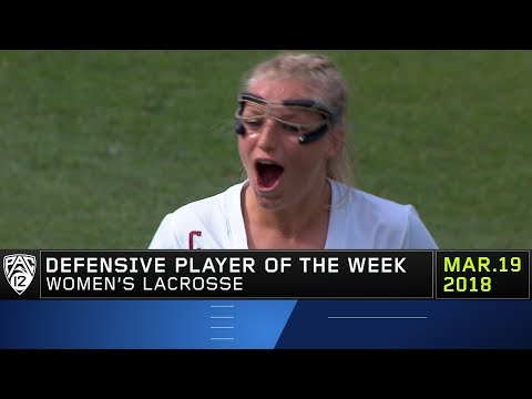 USC's Lydia Sutton claims Pac-12 Women's Lacrosse Defensive Player of the Week honors
