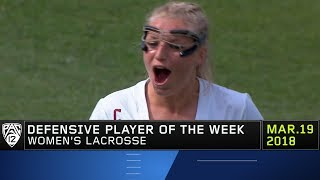 USC's Lydia Sutton claims Pac-12 Women's Lacrosse Defensive Player of the Week honors thumbnail