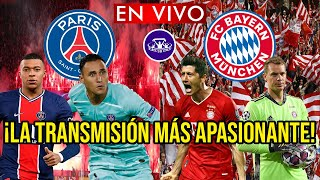 PSG vs BAYERN MUNICH EN VIVO 🔴 CUARTOS DE FINAL VUELTA - CHAMPIONS LEAGUE